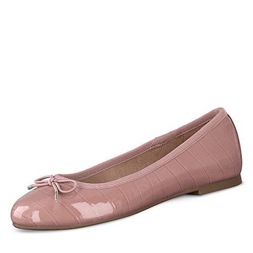 Tamaris Damen 1-1-22101-24 573 Ballerinas, Rosa, 37 EU