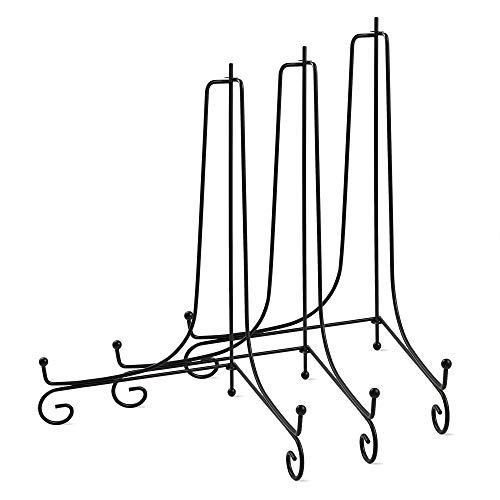 Preisvergleich Produktbild Sntieecr 3 Stück 25, 4 cm Eisen Ständer Ständer Ständer Ständer Ständer Ständer für Teller Foto Rahmen Bücher,  Dekorative Teller,  Tablets,  Kunst und Heimdekoration