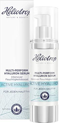 HELIOTROP Naturkosmetik Active Hyaluron, Serum mit natürlicher Hyaluronsäure AntiAging Serum, 30 ml
