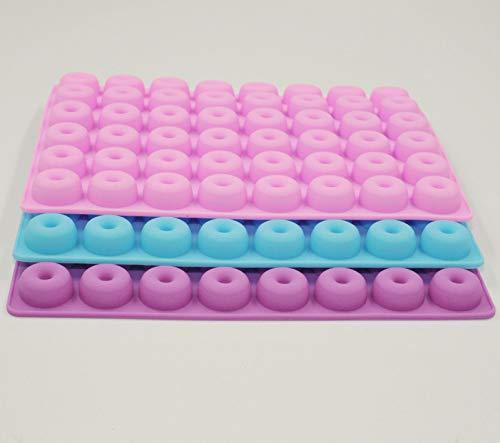 Selecto Bake - Moule silicone mini donut 48 cavités - 1 au hasard