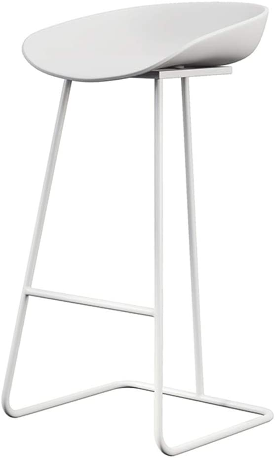 Barstool Iron Art Special price for a limited time Breakfast High Chair with discount Bracket f Legs White