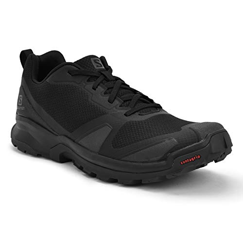 Salomon Herren Trail-Running-Schuhe, XA COLLIDER, Farbe: Schwarz (Black/Ebony/Black), Größe: EU 49 1/3
