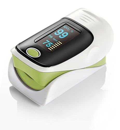 vitacarry PulsiOxímetro de Dedo y Monitor de frecuencia cardíaca