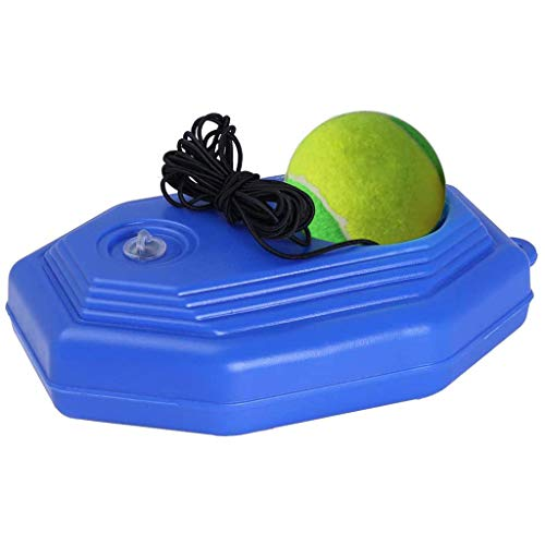 Great Price! Single Tennis Trainer - Tennis Baseboard + Tennis Ball with String Attached - Self-Stud...