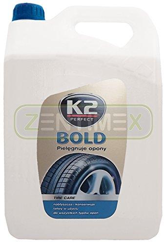 Reifenreiniger Reifenpolitur Reifenpflege Reifenschwärzer Reifenwartung Reifenschaum Reifenschutz Gummipflege Gummibehandlung Farbschutz Schutz vor Rissbildung Alterung Farbausbleichung 5kg KANISTER