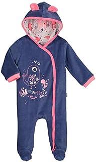 447b62e775d1e Surpyjama bébé velours Maronette - Taille - 12 mois (80 cm)