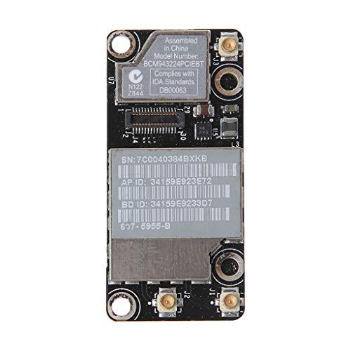 Dedepeng Network Card for A1342 A1286 MC371 MC372 MC373 WiFi Airport Bluetooth Card Dual Band Wireless Network Card BCM943224PCIEBT Bluetooth Adapter