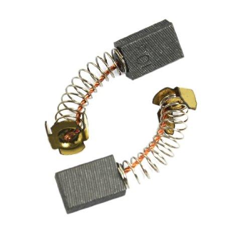 sourcingmap –4pezzi 15mm x 10mm x 6mm motore spazzole di carbone di ricambio