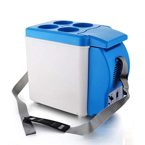 ZGQA-AOC Refrigerador del coche, coche eléctrico Frigorífico mejorada 6L portátil mini nevera con fría y caliente funcionalidad ECO Modo de ahorro, mini nevera (color, tamaño: 6 l) refrigerador del co