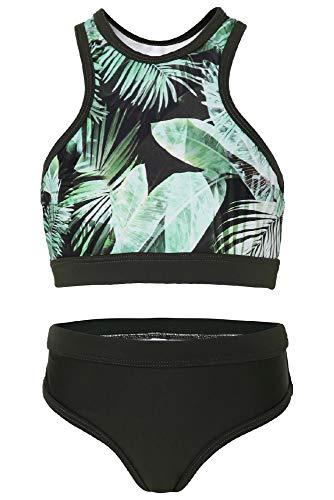 La-V Mädchen Bikini Zweiteilig Sport Leaf/Größe 164/170