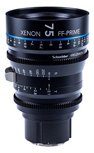 Schneider-Kreuznach 1085551 Cine Objektiv FF-Prime T2.1/75 mm, Sony E/m schwarz