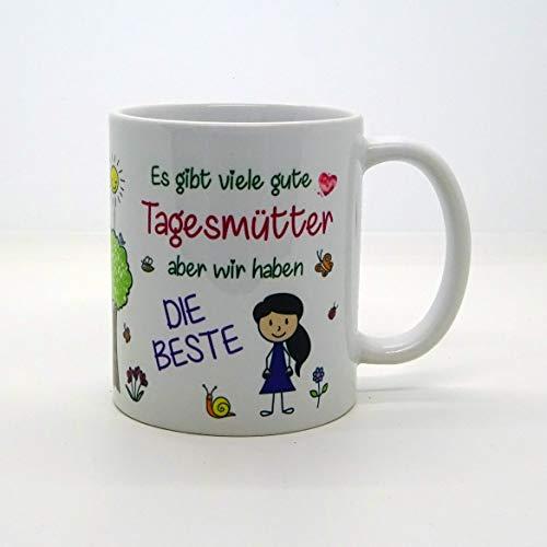 Kaffeebecher ~ Tasse - Es gibt viele gute Tagesmütter (WIR) ~ Kindergarten ~Weihnachten Geschenk