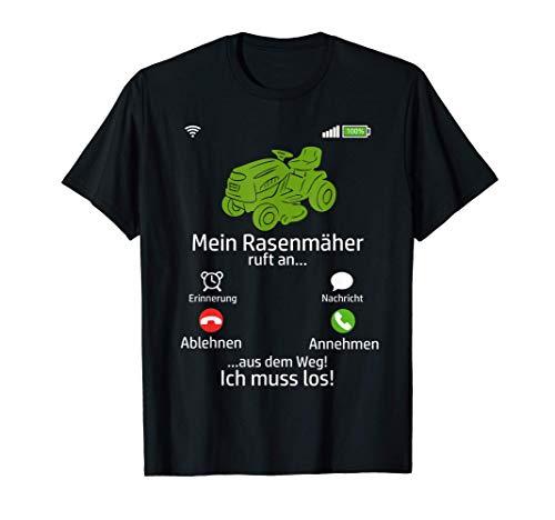 Gärtner Garten Rasenmäherroboter Rasenmähen Rasenmäher T-Shirt