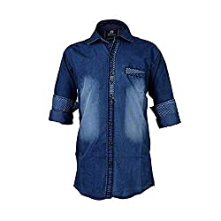 Zolario Boys Cotton Denim Shirt