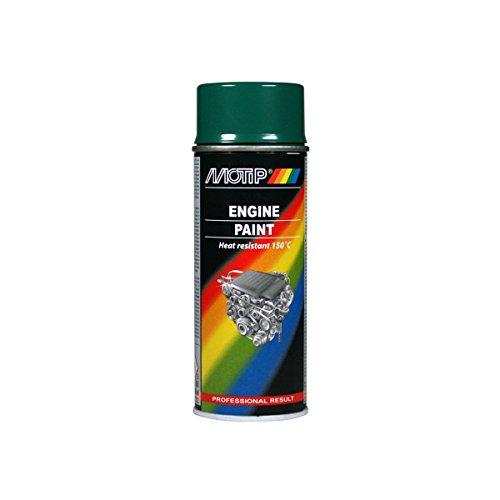 Motip 04095 Engine Paint hitzebeständige Lack 400ml Grün, 400 ml