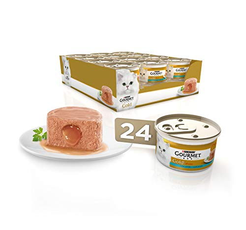 Purina Gourmet Gold Fondant comida para gatos con Atun 24 x 85 g 🔥