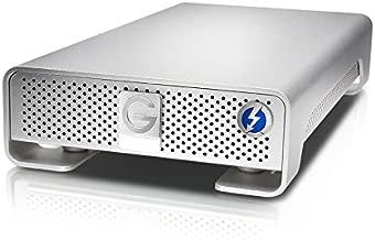 G-Technology 10TB G-Drive with Thunderbolt and USB 3.0 Desktop External Hard Drive, Silver - 0G05024