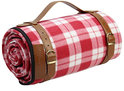 Picnic Blanket Waterproof Extra Large | Beach Blanket Sand Proof Oversized Waterproof | Great Festival Blanket and Picnic Mat | Water Resistant Heavy Duty Wet Lawn Blanket Backing for Outdoor Picnics