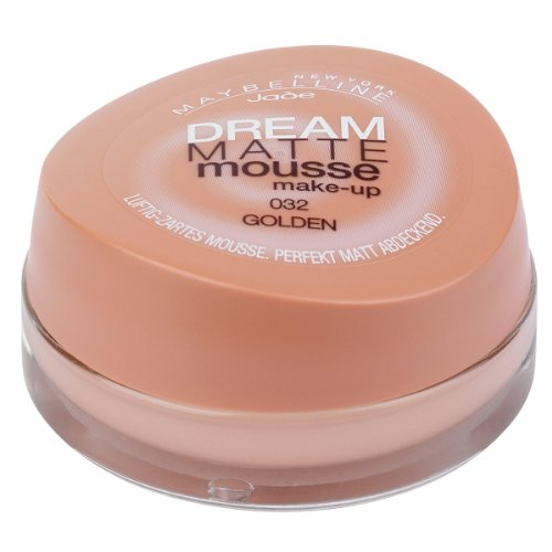 Maybelline New York Dream Matte Mousse Make-up, 32, Golden