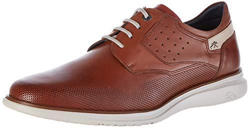 Fluchos   Zapato de Hombre   Fenix F0194 Brezza Cuero   Zapato de Piel de Vacuno de Primera Calidad   Cierre con Cordones   Piso Personalizado Fluchos Light