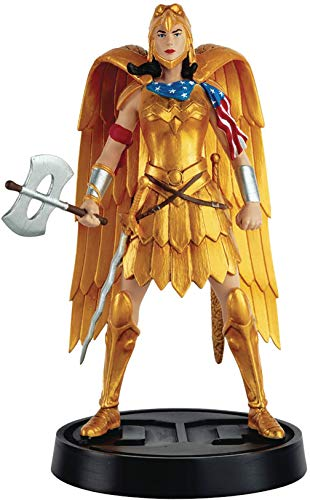 Eaglemoss DC Super Hero Collection: Wonder Woman Mythologies #2 Golden Eagle Armor Figurine, 5', Multicolor