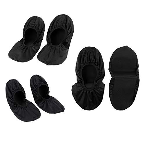 perfeclan Bowlingschuhe Überschuhe Überzieher Shoe Cover Hülle S + M + XL