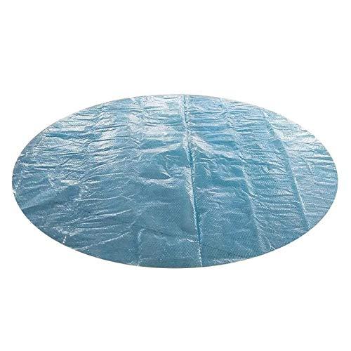 Cubierta de Piscina Redonda, fácil de configurar, 6 pies, Cubierta de Piscina Solar, Manta calefactora para SPA, Jacuzzi, Piscinas Redondas en el Suelo y sobre el Suelo