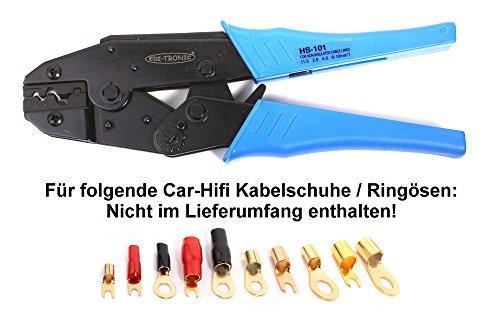 Crimpzange für nicht isolierte Kabelschuhe HS-101 Crimp Zange