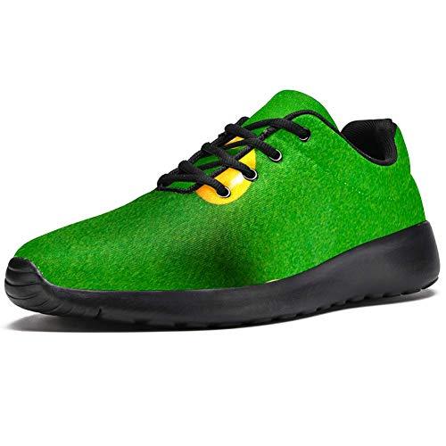TIZORAX Sport-Laufschuhe für Damen, Billiard, modische Sneaker, Netzstoff, atmungsaktiv, Wandern, Tennisschuh, Mehrfarbig - mehrfarbig - Größe: 39 EU