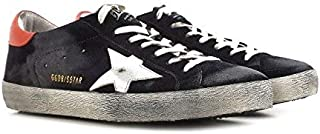 Golden Goose Deluxe Brand Superstar Blue Ink Mens Sneakers G32MS590.E99 Size 40 (7 US)