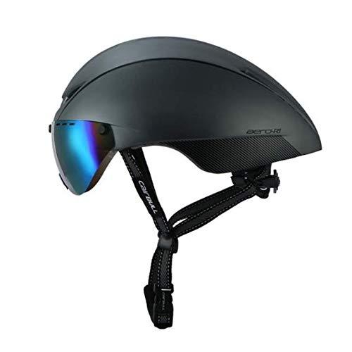 Heemtle Fahrradhelm Einstellbare Männer/Frauen Road & Mountainbike Fahrradhelm Sicherheit Schutz Multicolor Objektiv Aero Helme 8 Farben optional (Einstellbare 54-60 cm)