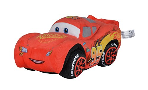 Simba 6315874641 - Disney Cars 3, Plüschauto, McQueen, 25 cm