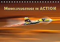 Modellflugzeuge in ACTION (Tischkalender 2022 DIN A5 quer): Modellflugzeuge in ihrem Element (Monatskalender, 14 Seiten )