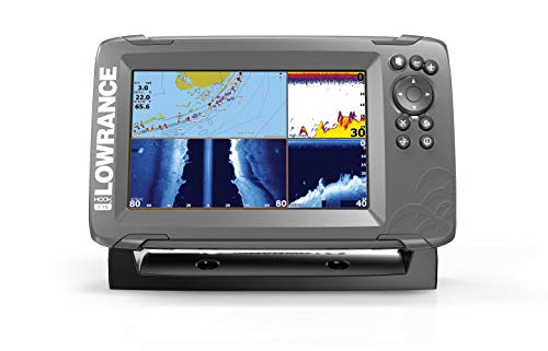 Lowrance 000-14294-001 Chart Plotters (HOOK2 with TripleShot Transducer)