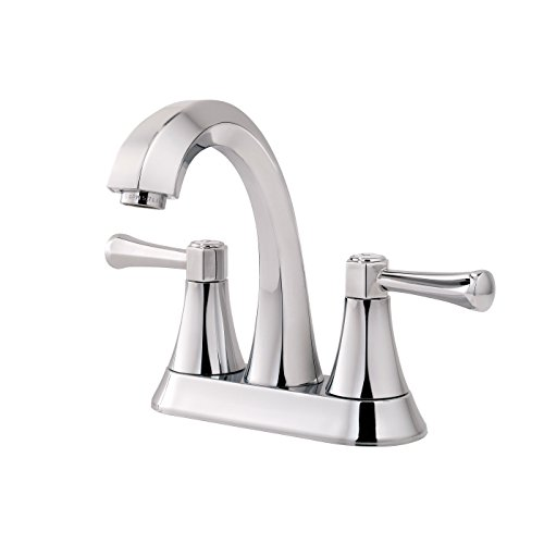 Pfister LF-048-AVCC Altavista 2-Handle 4' Centerset Bathroom Faucet in Polished Chrome, 1.2gpm