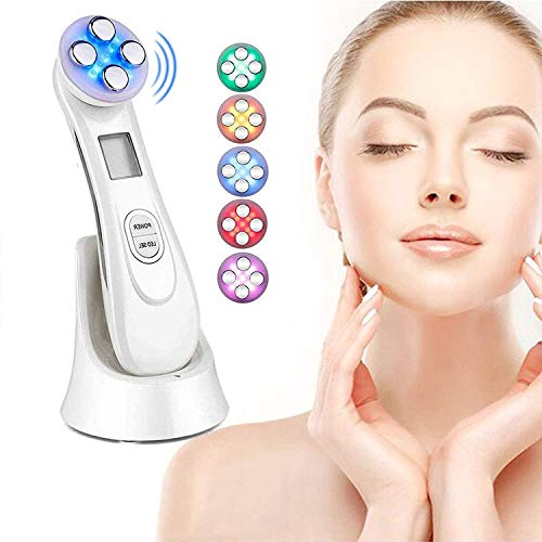 Ultrasonic beauty device,High Frequency Facial Machine&6 Modes Face...
