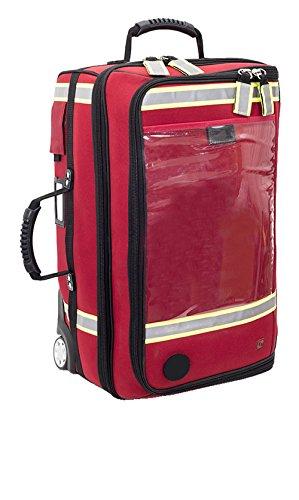 EB EMERAIR´S Trolley Estuche de Doctor con Carro (Rojo)