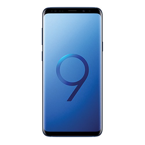 Samsung Galaxy S9 Plus (6.2', Dual SIM) 64GB SM-G965F/DS Factory Unlocked LTE Smartphone (Coral Blue) - International Version