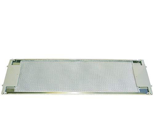 Electrolux AEG 50263849007 Filtre à graisse rectangulaire en métal 510 x 160 mm avec déverrouillage des deux côtés 710D-M 710D-B