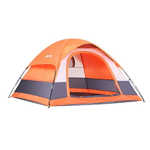 SEMOO Tente de Camping pour 2-3 Personnes, résistant à l'eau, pour 3 Saisons, Porte d'entrée en Forme de D, très léger et résistant, avec Sac de Transport pour Le Camping et Les Excursions