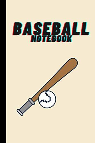 Baseball Notebook: Baseball themed journal for baseball lovers