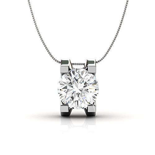 18k White Gold Plated Necklace $19.99(83% Off)
