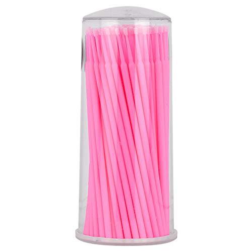 Demarkt 1 boxen wattenstaafje hout Cotton Swabs voor verwijderaar, onderhoud van wondschoenen, elektronische componenten 11 x 4,8 cm 11 * 4.8cm roze