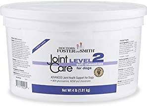 DRS. Foster + Smith Level 2 Joint Care Soft Chews for Dogs, 4 lbs. - 300 Treats
