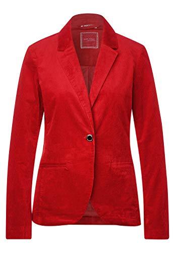 Street One Damen A211230 Blazer, Flaming red, 36
