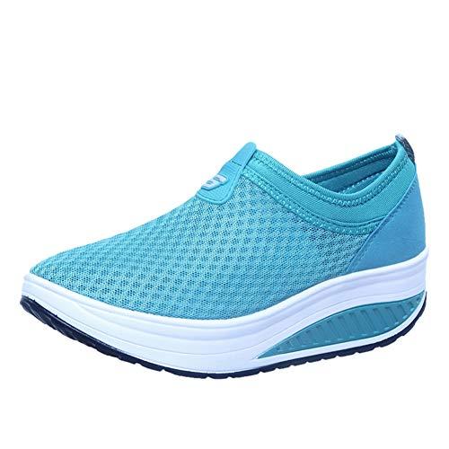 Sportschoenen Voor Dames Casual Mesh Ademende Sportloopschoenen Lichtgewicht Instappers Loafers Afslanken Jogging Fitness Gym Toning Sneakers