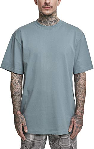 Urban Classics Herren Tall Tee T-Shirt, dusty blue, 4XL