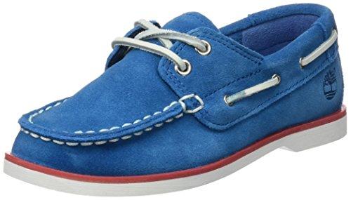 Timberland Unisex Baby Seabury Classic 2Eye BoatMykonos Blue Hammer II Lauflernschuhe Blau (Mykonos), 29 EU