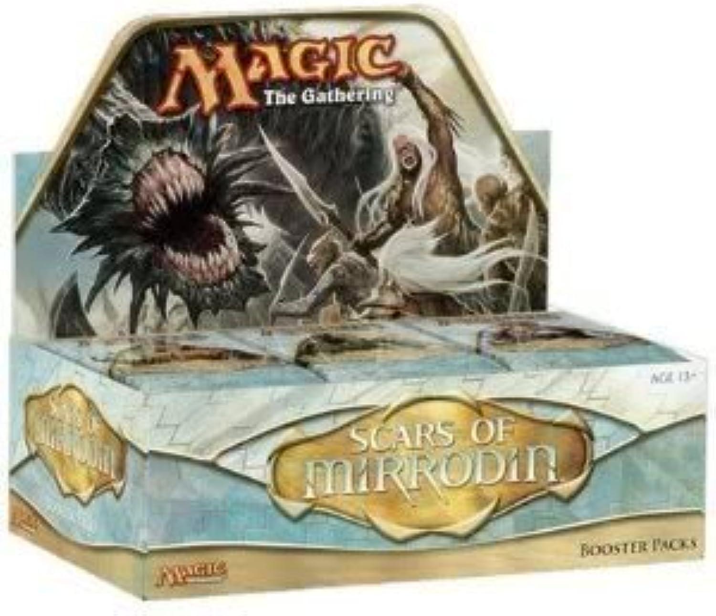 Spielzeug Spiel Magic The Gathering Narben von Mirrodin Booster Box enthlt 36Packs (für Alter  16Jahre und Up) von 4Kids
