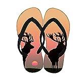 Niño Gel De Sílice Diseño Deep Forest Fawn Asombrosa Compatible Con Flip Flops